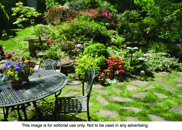Alternatives To Grass Front Yard Landscaping Ideas: Grass-Free Landscaping A Viable Alternative