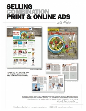 Selling Print & Online Combination Ads