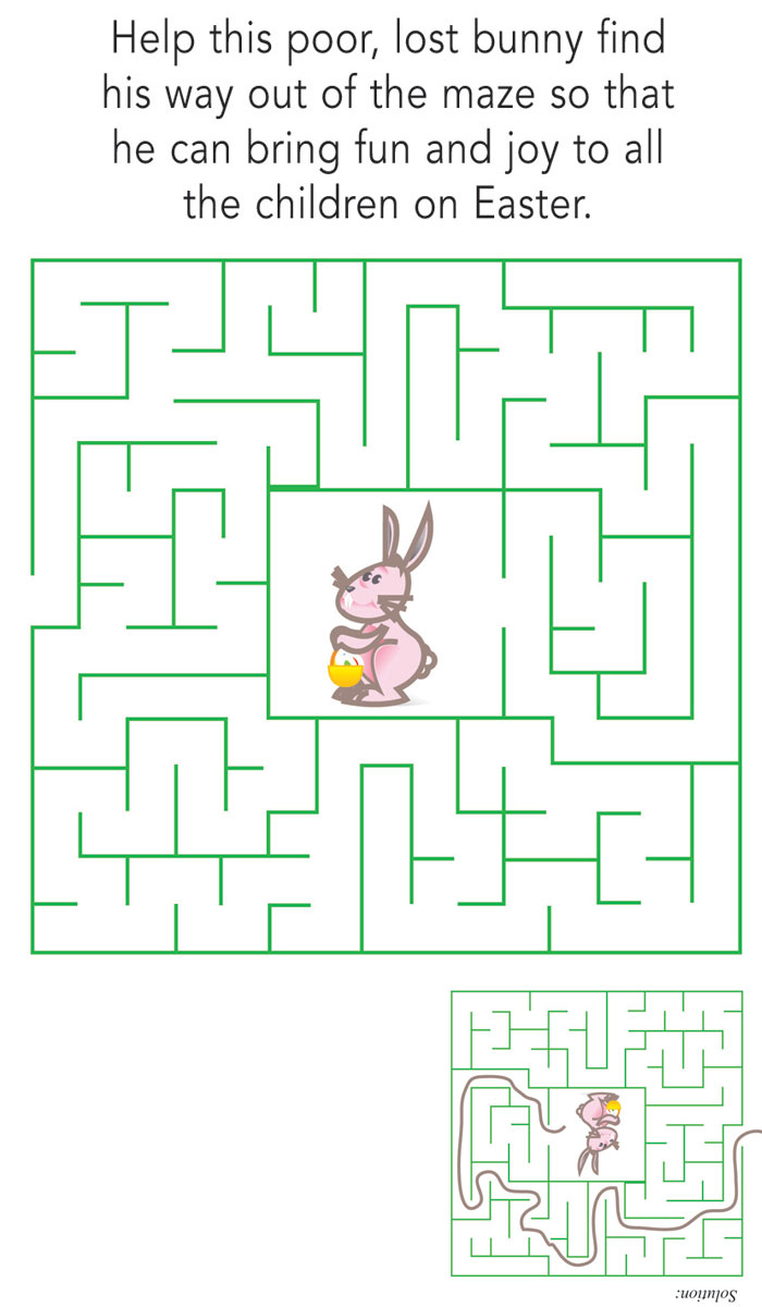Easter Bunny Maze - Easter | Easter Special Section