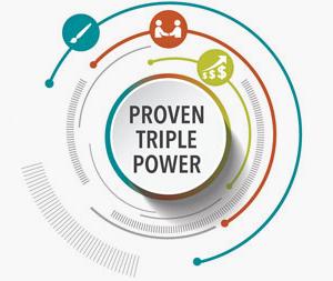 Proven Triple Power